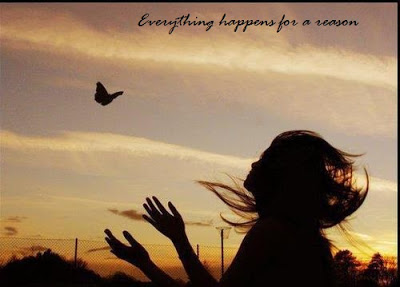"""Everything Happens for a Reason"" - Courtesy of lovelysms.com"
